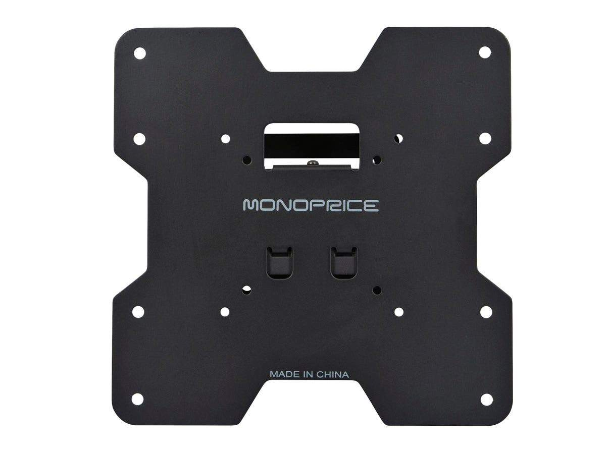 Tilt TV Wall Mount Bracket For TVs 24in to 37in | Max Weight 80 lbs, VESA Patterns Up to 200x200, Concrete / Brick Only by Monoprice