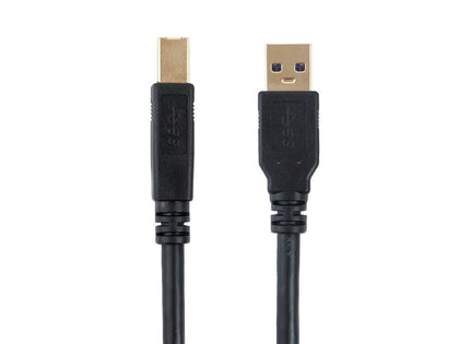 Monoprice USB 3.0 A to B Cable - 1.8 Meters (6ft), HP, Canon, Lexmark, Epson, Dell, Xerox, Samsung etc - Select Series Main Image