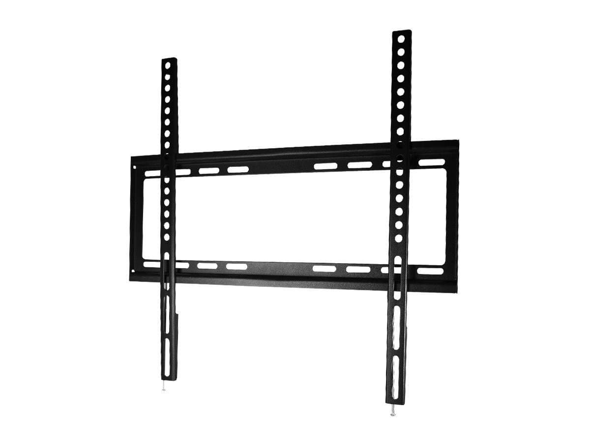Monoprice Commercial Series Fixed TV Wall Mount Bracket For TVs 32in to 55in, Max Weight 77lbs, VESA Patterns Up to 400x400, UL Certified