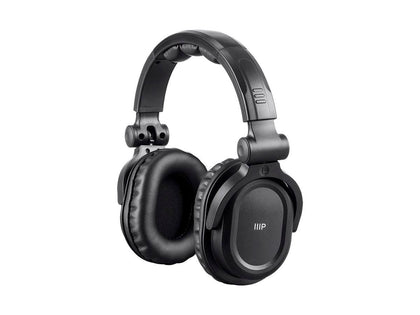 Monoprice Premium Hi-Fi DJ Style Over-the-Ear Pro Bluetooth Headphones with Mic and Qualcomm aptX Support (8323 with Bluetooth) Main Image