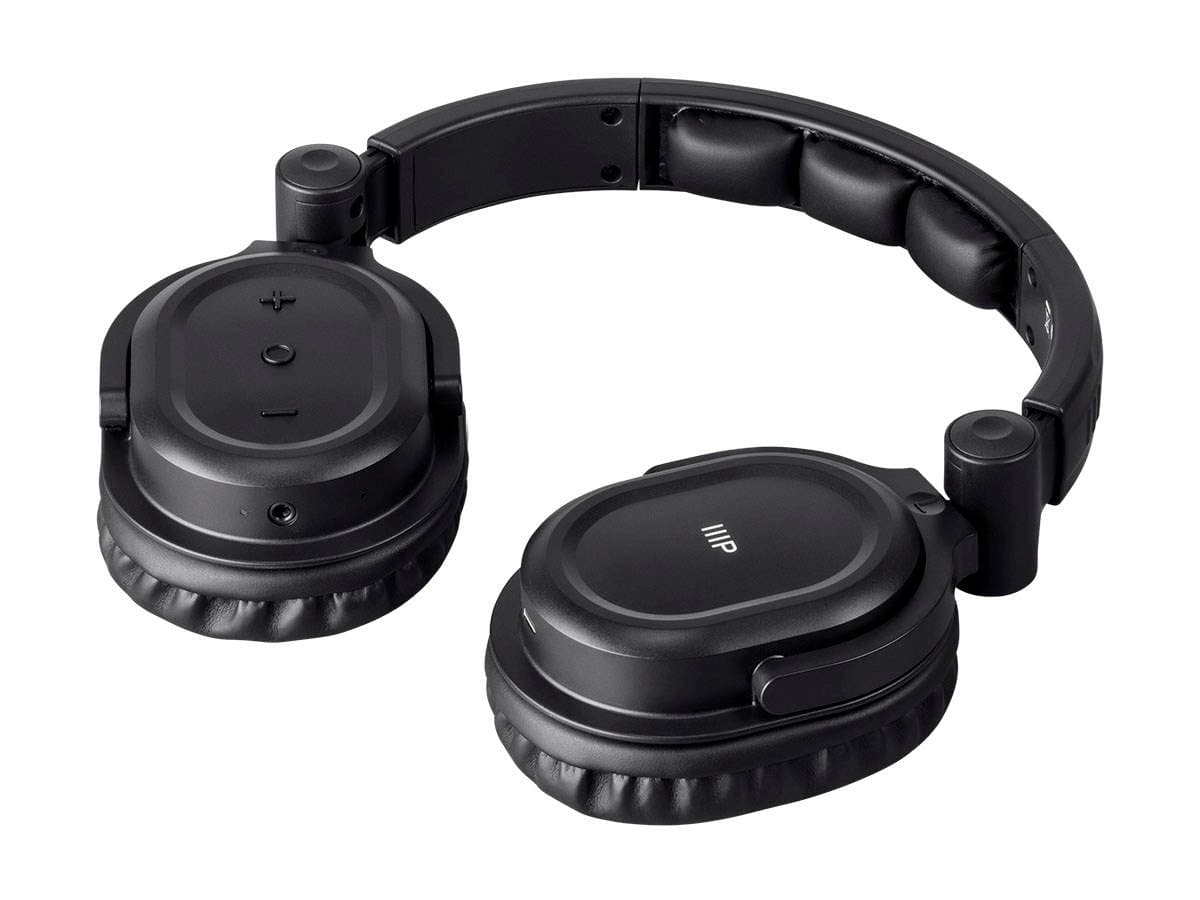 Monoprice Premium Hi-Fi DJ Style Over-the-Ear Pro Bluetooth Kopfhörer mit Mikrofon und Qualcomm aptX-Support