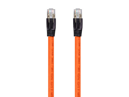 Monoprice Entegrade Series Cat8 24 AWG S/FTP-Ethernet-Netzwerkkabel 2 GHz 40 G 1,5 m, orange