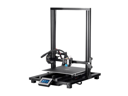 Monoprice MP10 3D Printer EU - Black with (300 x 300 mm) Removable Heated Flexible Build Plate, Assisted Leveling, and All Metal Accessible Extruder Main Image