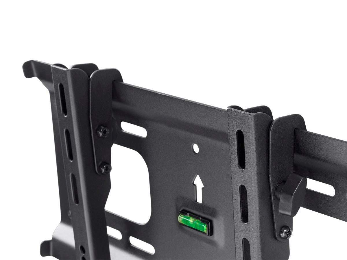 Monoprice EZ Series Tilt TV Wall Mount Bracket for TVs 32in to 70in, Max Weight 154 lbs, VESA Patterns Up to 400x400