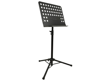 Monoprice Heavy-Duty Sheet Music Stand With Height Adjustable Base Between 66cm-116cm (26 -46in) Above The Floor Main Image