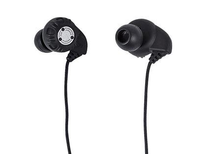 Monoprice Enhanced Bass Hi-Fi Noise Isolating Earbuds Headphones - Black Main Image