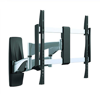 Monoprice EZ Series Full-Motion Articulating TV Wall Mount Bracket For TVs 37in to 70in, Max Weight 44,9 kg (99 lbs), Extends from 2.0in to 17.5in, VESA Up to 600x400, Rotating , Concrete & Brick, UL Certified