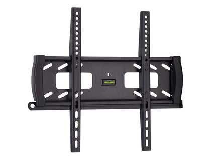 Monoprice Commercial Series Fixed TV Wall Mount Bracket For TVs 32in to 55in, Max Weight 44,9 kg (99 lbs), VESA Patterns Up to 400x400, Security Brackets, UL Certified