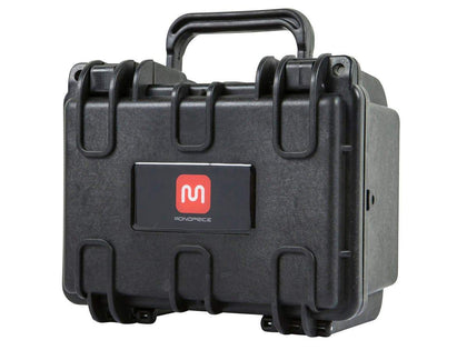 Pure Outdoor by Monoprice Weatherproof Hard Case with Customizable Foam, 8 x 7 x 6 in