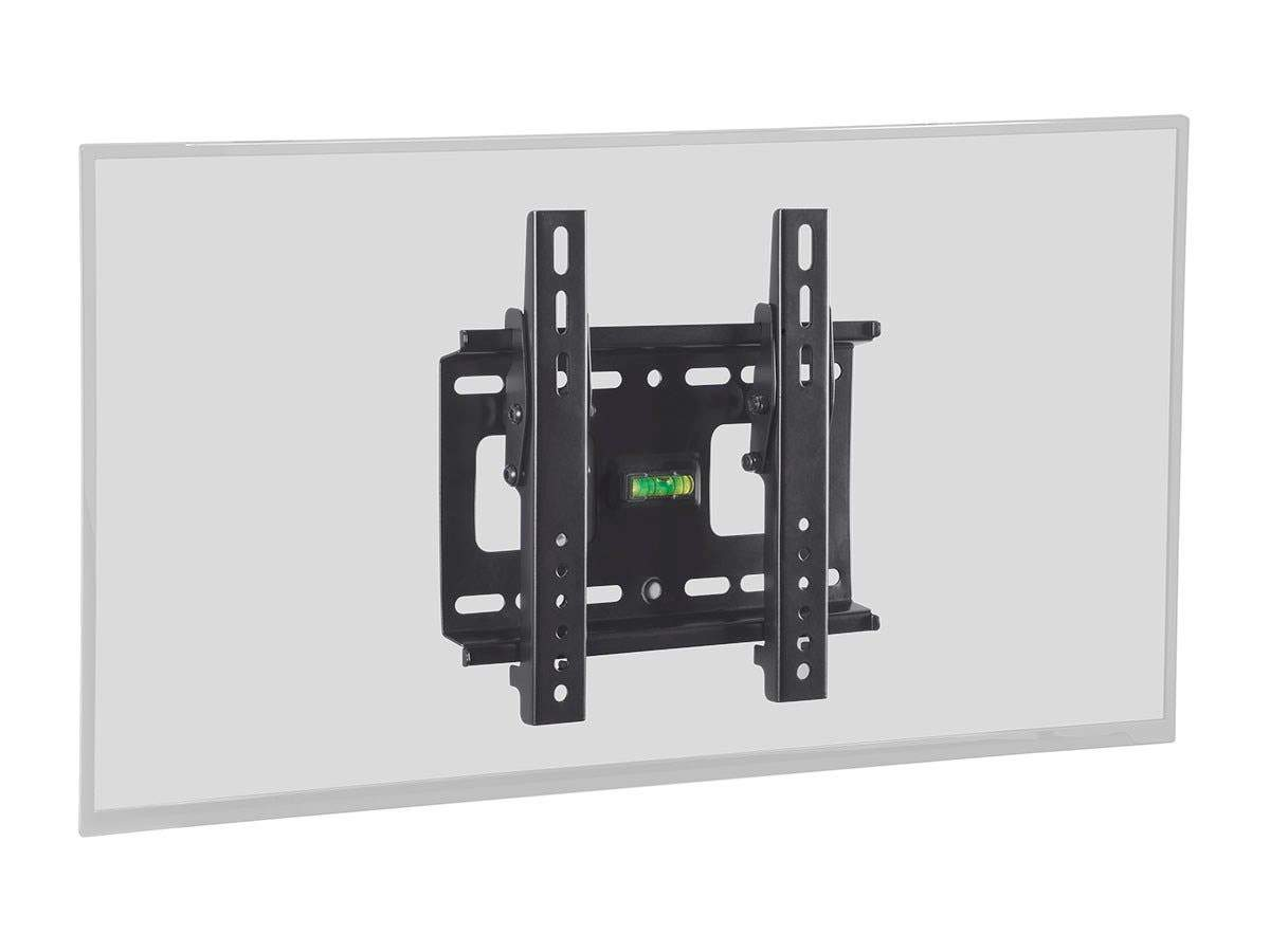 Monoprice EZ Series Tilt TV Wall Mount Bracket - For TVs 32in to 42in, Max Weight 80lbs, VESA Patterns Up to 200x200, UL Certified