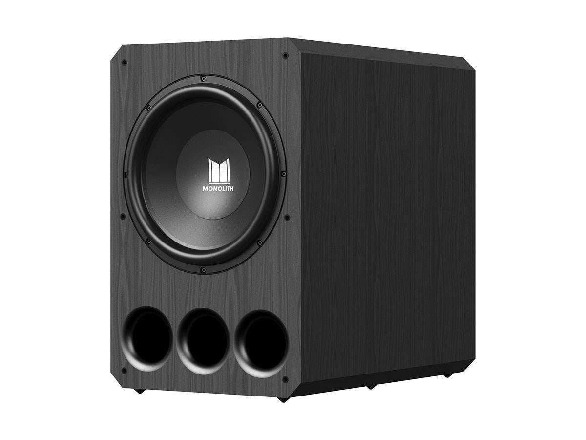 "Monolith by Monoprice 10"" THX Select Certified 500 Watt Powered Subwoofer (EU)"