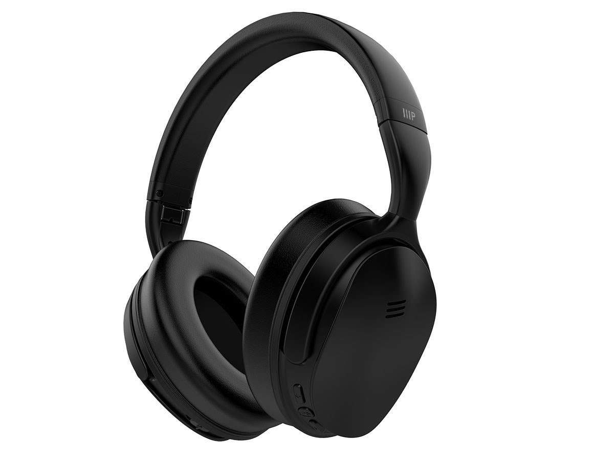 Monoprice BT-300ANC Bluetooth with aptX Wireless Over Ear Headphones with Active Noise Cancelling (ANC)