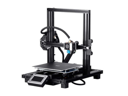 Monoprice MP10 Mini 3D Printer EU - Black with (200x 200 mm) Removable Heated Flexible Build Plate & Assisted Leveling Main Image