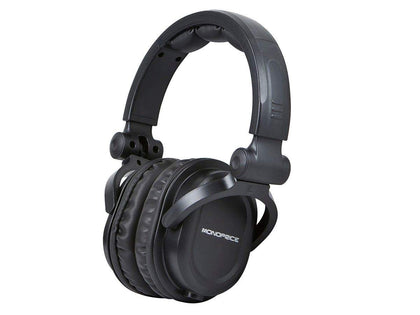 Monoprice Premium Hi-Fi DJ Style Over-the-Ear Pro Headphones with Mic Main Image