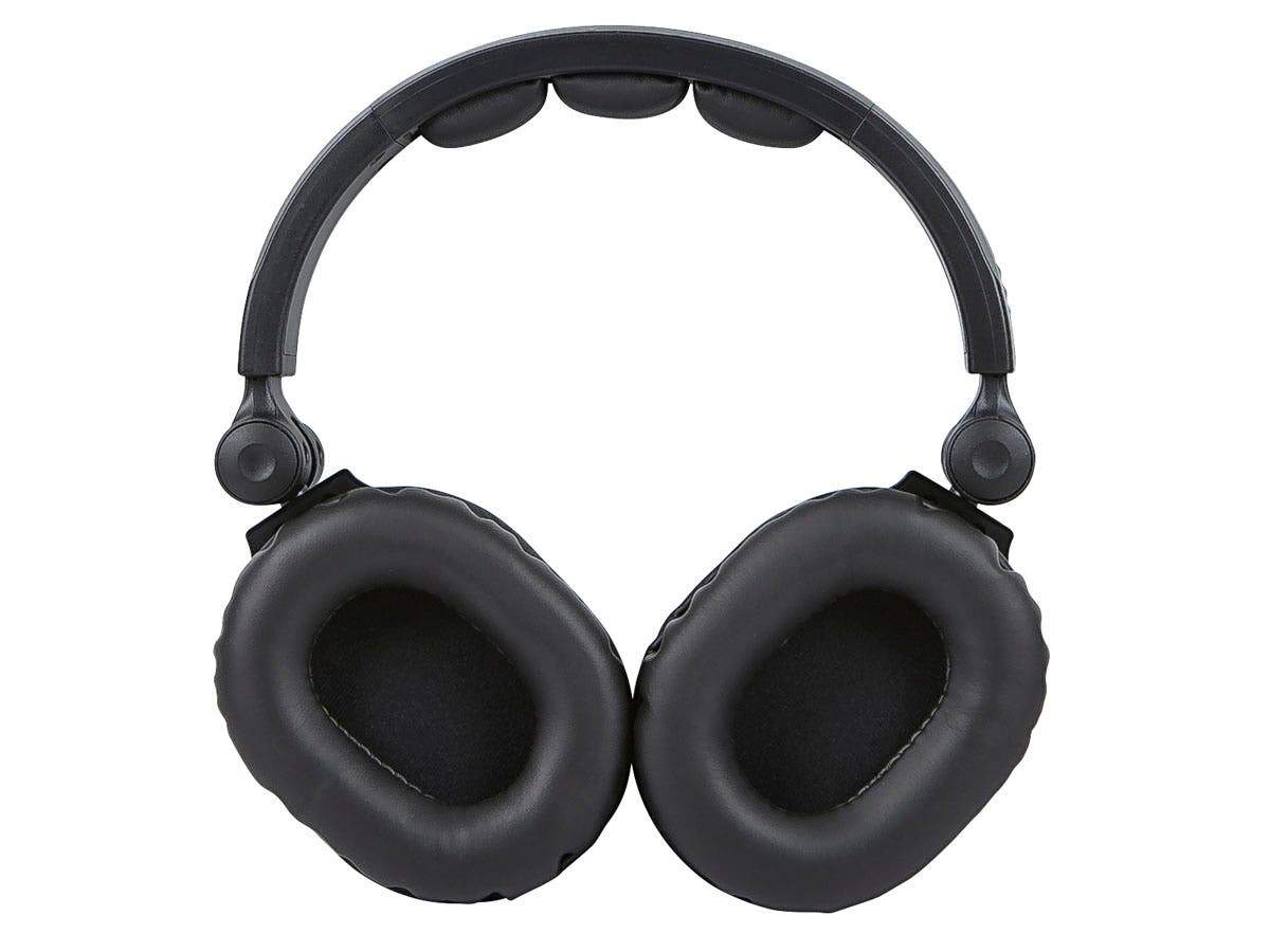 Premium Hi-Fi DJ Style Over-the-Ear Pro Headphones with Mic by Monoprice