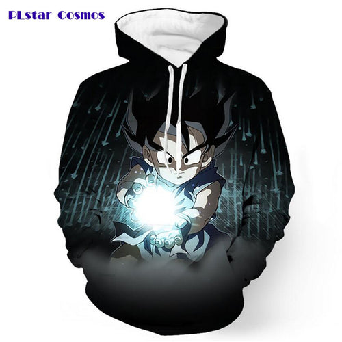 Black Goku Pocket Dragon Ball Z Kid G 3D Hoodie