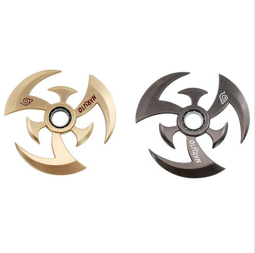 New Hand Spinner NARUTO High Quality Darts Zinc Alloy Weapons Keychain Model Kids Christmas Gift