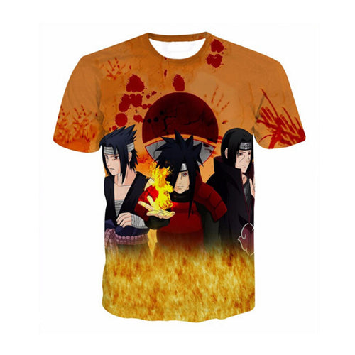 BLOW-OUT SALE $19-OUT THE DOOR 2017 Newest Anime Naruto 3D Print t shirts Summer Tops Plus Size Tees Kid Boys Girls Brand Clothes Cartoon Personality T shirts