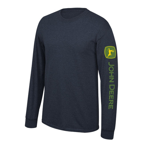 John Deere Navy Long Sleeve Shirt