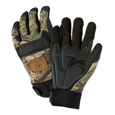 John Deere Anti Vibration Camo Knuckle Glove