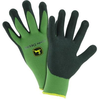 John Deere Nitrile Coated Green Grip Glove