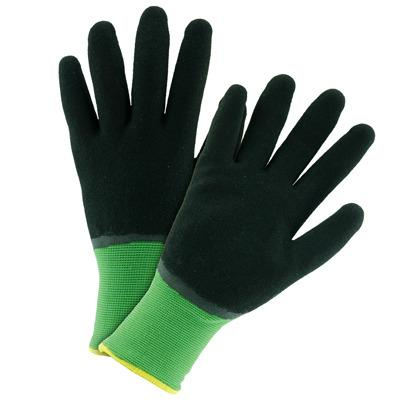 John Deere Lined Latex Dipped Gloves