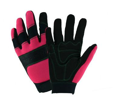 John Deere Women Lined Hi Dex Pink And Black Gloves Med/Large
