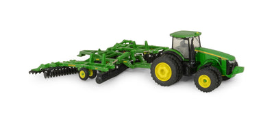 John Deere 1:64 8320R Tractor with 637 Disk Set