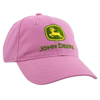 John Deere Girls Toddler Logo Pink Cap