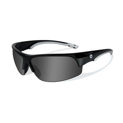 John Deere Torque-X Safety Sunglasses Grey Black
