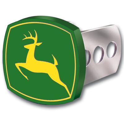John Deere Full Color Metal Hitch Cover