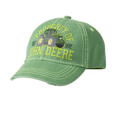 John Deere Youth Green Cap