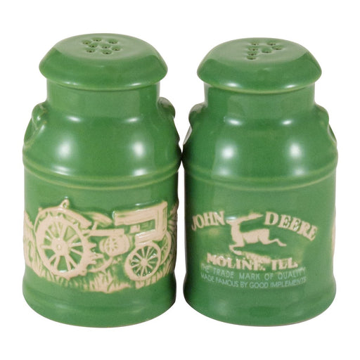 John Deere Milk Can Salt & Pepper Set
