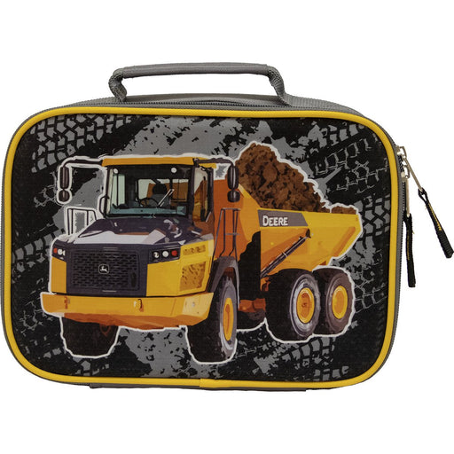 John Deere dump truck lunch kit.
