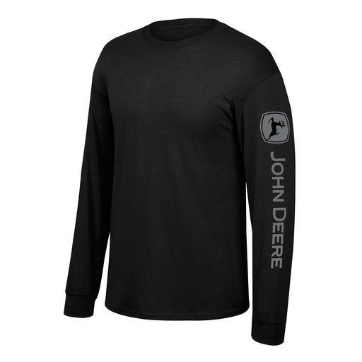 John Deere Black Long Sleeve Shirt