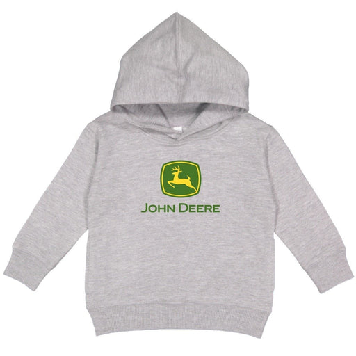 John Deere Boys Youth Grey Hoodie