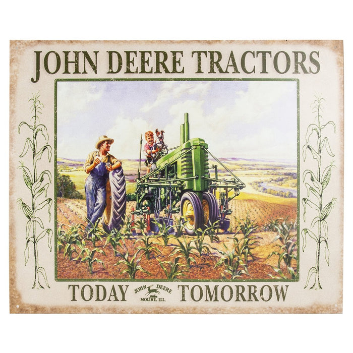 John Deere Lunchtime Tin Sign