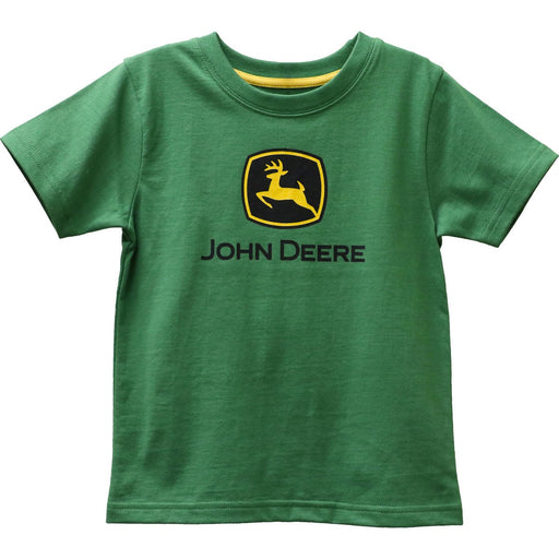 John Deere Boy Child Green Logo Tee