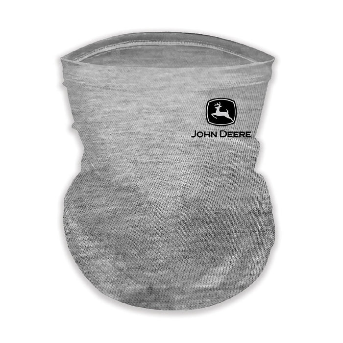 John Deere Youth Neck Gaiter Oxford Grey