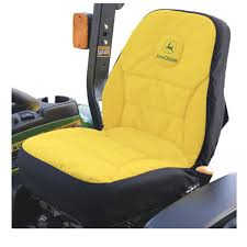 John Deere Medium Seat Cover for Compact Utility Tractors - LP95223