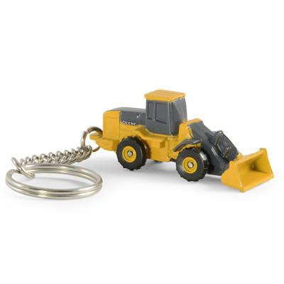 John Deere Wheel Loader Key Chain