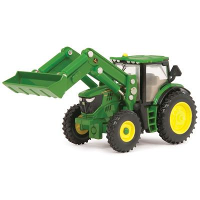 John Deere 1:64 6210R Tractor with Loader