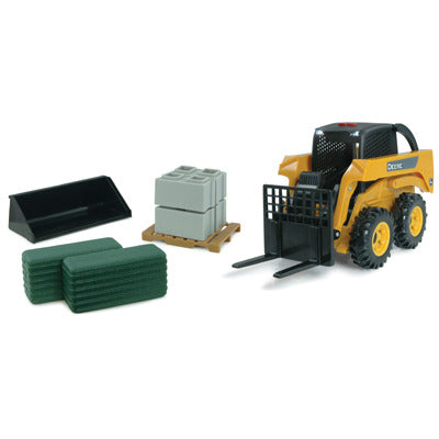 John Deere 1:16 Big Farm Skid Steer Set