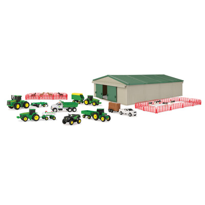 John Deere 70 Piece Farm Set