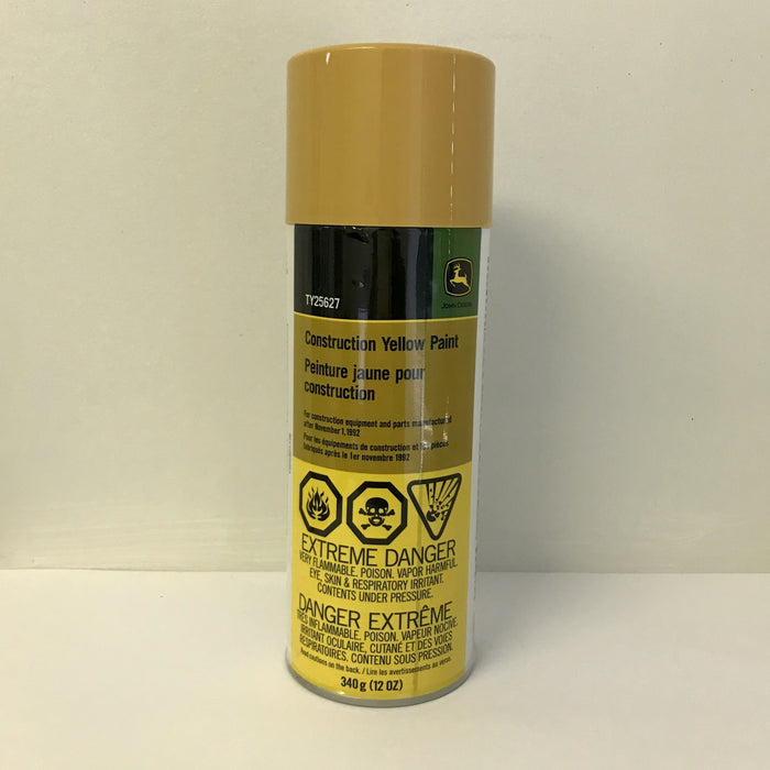 John Deere Construction Yellow Spray Paint - TY25627