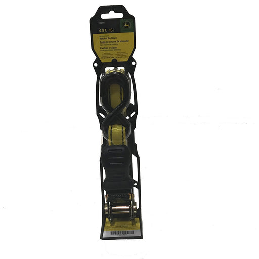 John Deere Ratchet Strap with S Hooks - 16 foot - TY25779