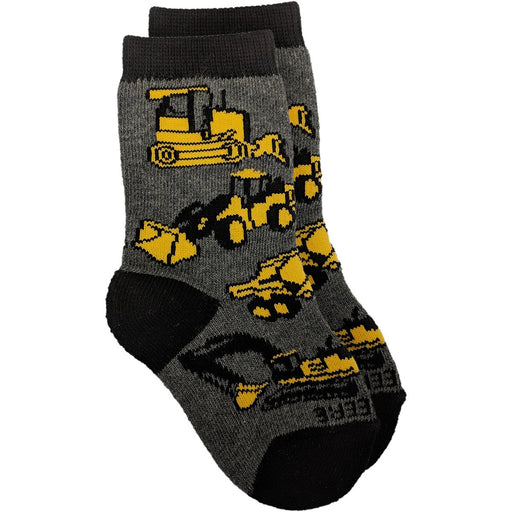John Deere Boy Child Construction Crew Sock