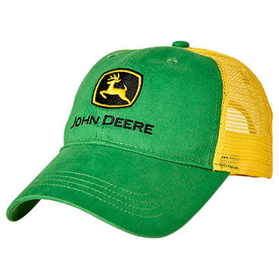 John Deere Boy Toddler Green Trucker Cap