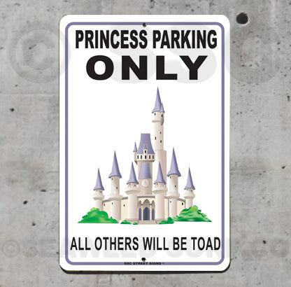 AA101 Princess Parking - Seaweed Surf Sign Co
