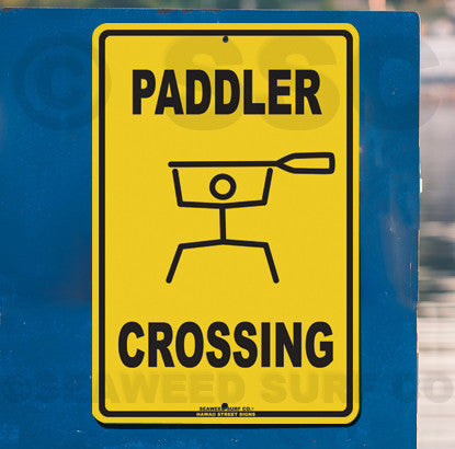 AA18 Paddler Crossing